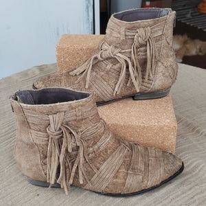 FREE PEOPLE Decades Fringe Boots